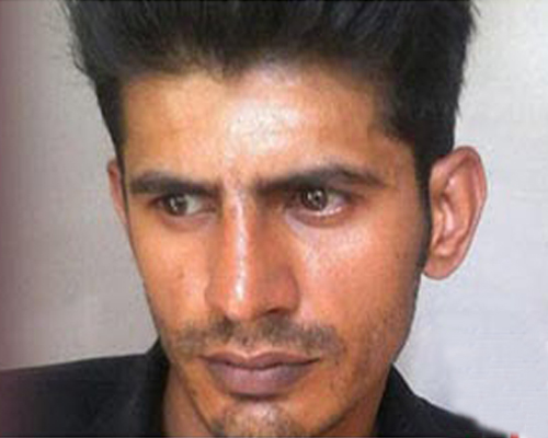 Picture of Culpirt who raped his real niece in Mirpur City